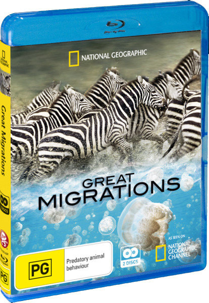 National Geographic: Great Migrations (2 Disc Set) on Blu-ray image