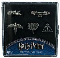 Harry Potter: Logos & Creatures - Boxed Lapel Pin Set