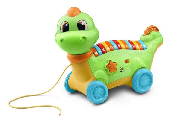 Leapfrog: Lettersaurus - Alphabet Pull Toy (Green)