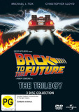 Back To The Future Trilogy Pack DVD