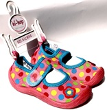 Hi-Hop Spotty Girl's Beach Shoes (18-24 Months)