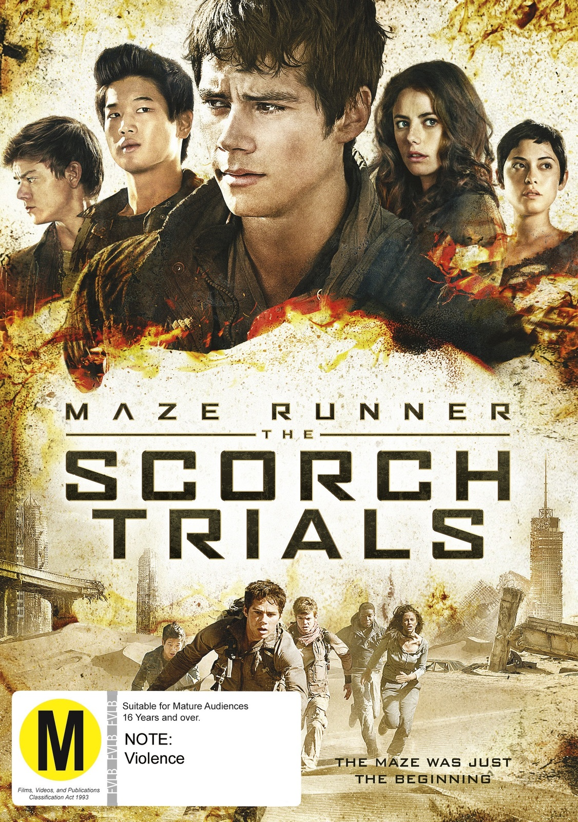 The Maze Runner 2: Scorch Trials on DVD image