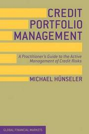 Credit Portfolio Management by Michael Hunseler