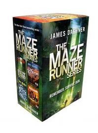 The Maze Runner Series Box Set (Books 1-4) by James Dashner