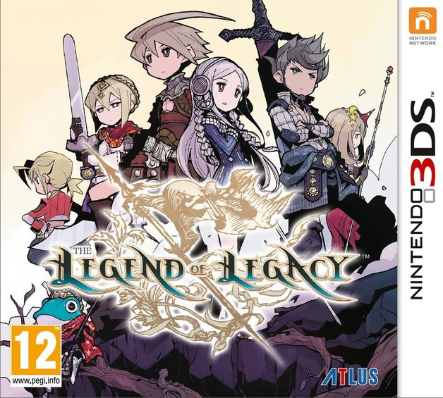 Legend of Legacy for 3DS