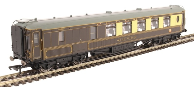 Hornby: Pullman Third Class Brake Car 'Car No.162'