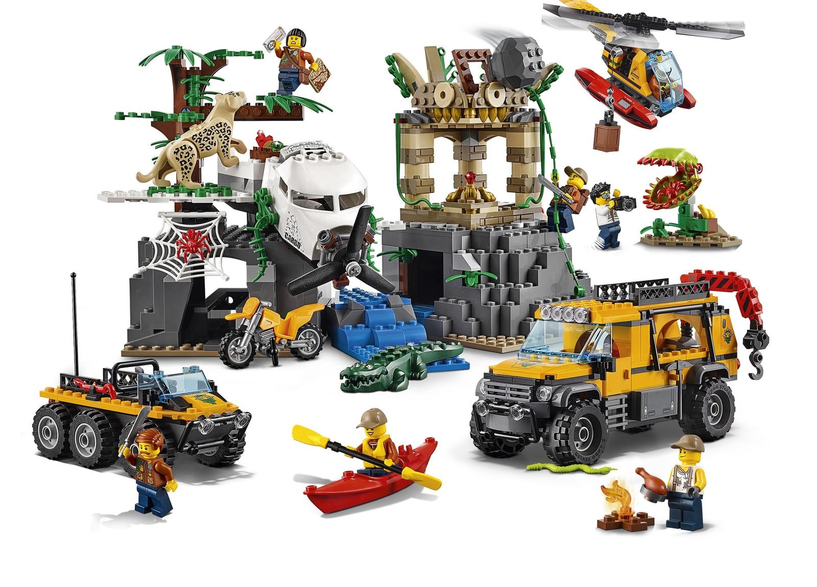 LEGO City: Jungle Exploration Site (60161) image