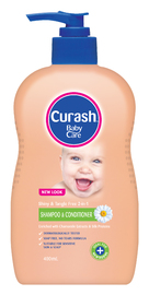 Curash 2 in 1 Shampoo and Conditioner - 400ml