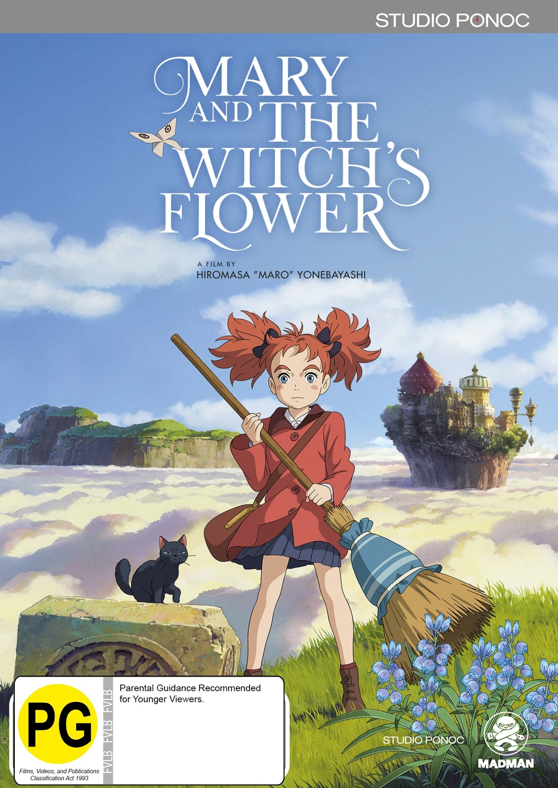 Mary And The Witch's Flower on Blu-ray image