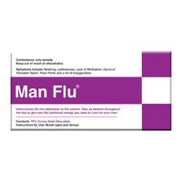 Bellaberry: Man Flu Dark Chocolate (100g)