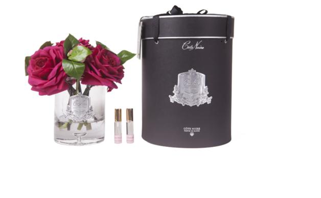 Cote Noire: Luxury Tea Rose - Carmine Red