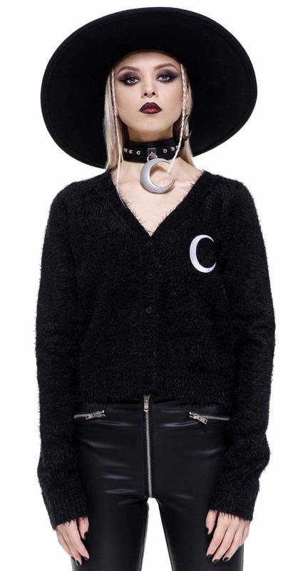Killstar: Crescent Knit Cardigan (Size - S)