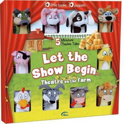 The Show is About to Begin: Farmyard Puppet Show image
