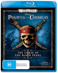 Pirates of the Caribbean - The Curse of the Black Pearl on Blu-ray