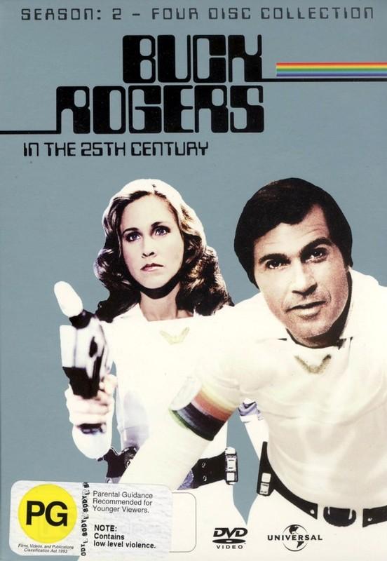 Buck Rogers In The 25th Century - Season 2 on DVD