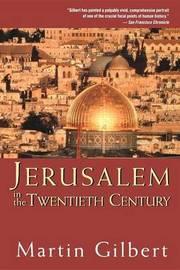 Jerusalem in the Twentieth Century by Martin Gilbert image