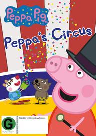 Peppa Pig: Peppa's Circus on DVD