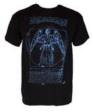 Doctor Who Vitruvian Angel Men's T-Shirt (Large)