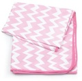 Bumkins: Waterproof Splat Mat - Pink Chevron