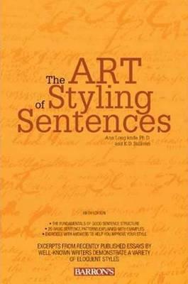 Art of Styling Sentences by Ann Longknife