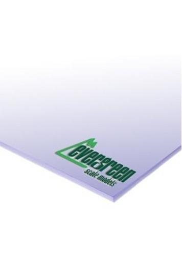 Evergreen Styrene White Sheet 0.13mm (3pk)
