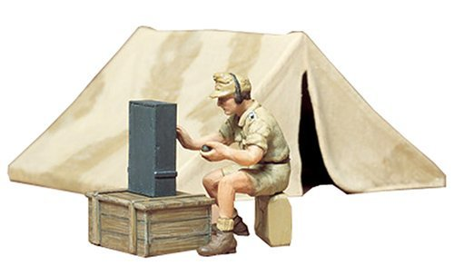 Tamiya 1/35 German Africa Corps Tent Set - Model Kit image