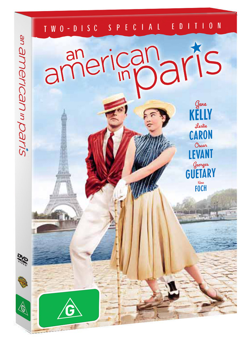 An American in Paris - Two-Disc Special Edition (2 Disc Set) on DVD image