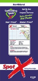 Spot X Northland Map: Surfcasting Spots by X Spot