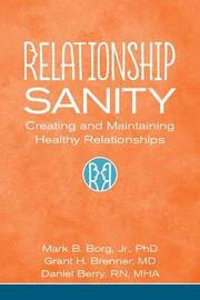 Relationship Sanity by Jr., Mark B. Borg image