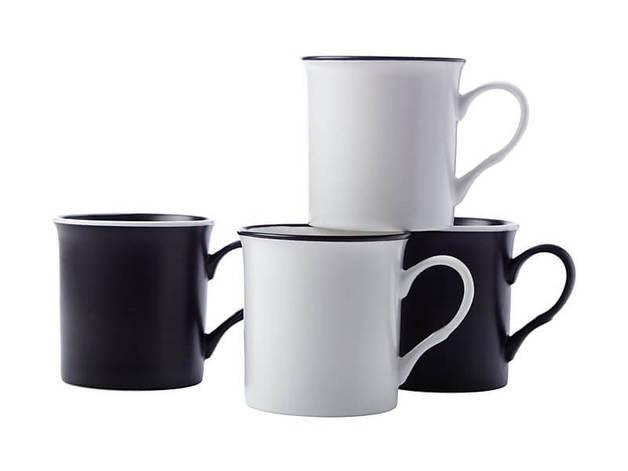 Maxwell & Williams Manhattan Mug 310ML Set of 4 Gift Boxed