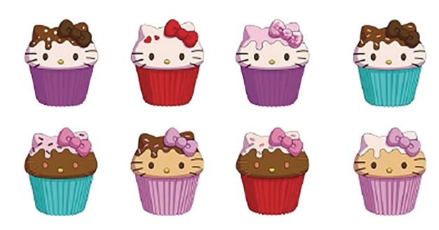 SquishMe: Scented Foam Toy - Hello Kitty Cupcake (Assorted Designs)