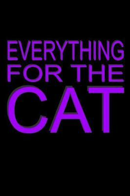Everything For The Cat by Denglisch Notebooks image