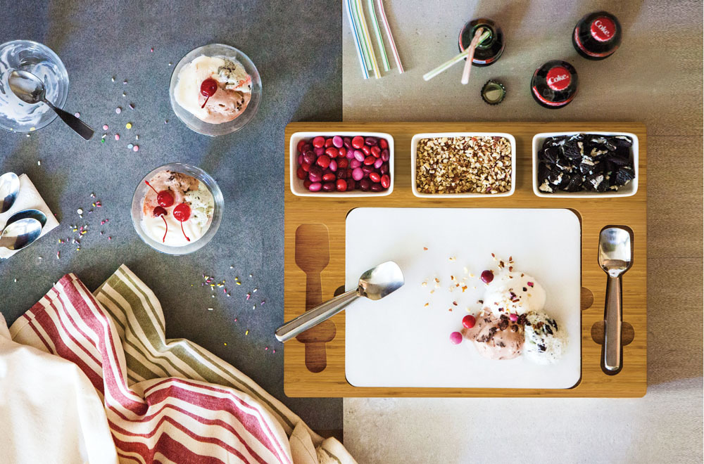 Picnic Time: Parlor Ice Cream Mixing Station image