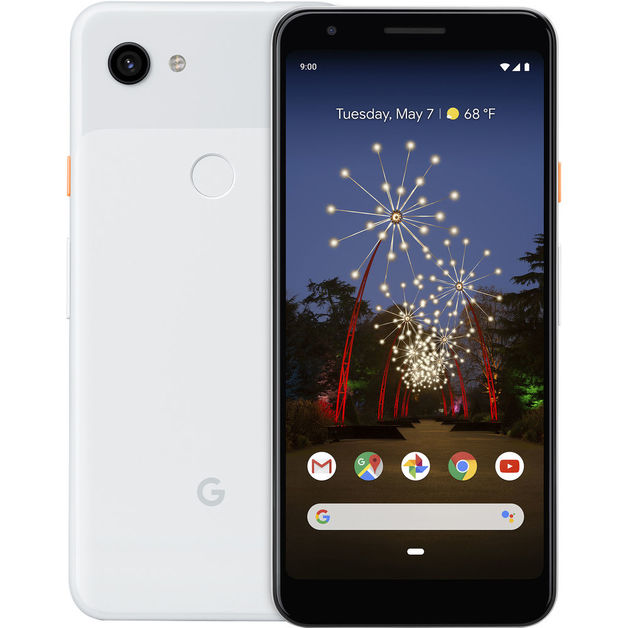 Google Pixel 3a - 64GB (Unlocked) - Clearly White