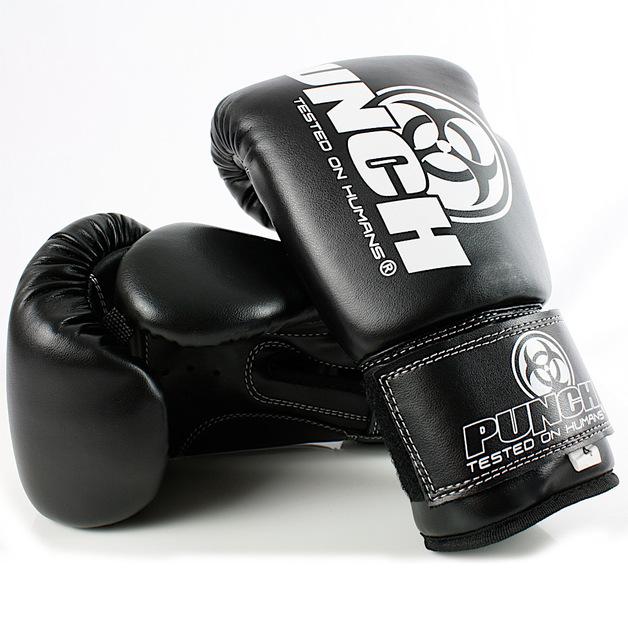 Punch Equipment: Urban Junior Boxing Gloves - Black (4oz)