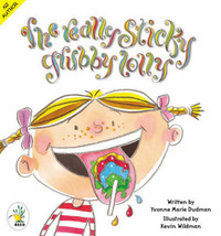 The Really Sticky Grubby Lolly by Yvonne Dudman image