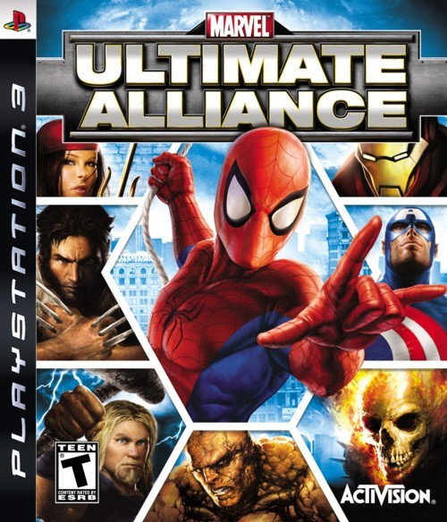 Marvel: Ultimate Alliance for PS3
