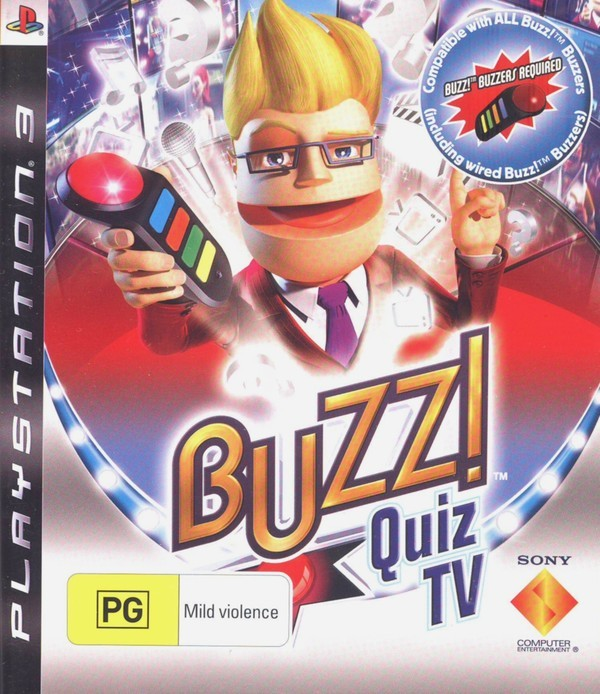 Buzz! Quiz TV (Game Only) for PS3