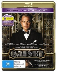 The Great Gatsby on Blu-ray, UV