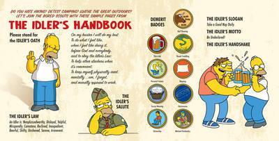 Homer Simpson'S Little Book Of Laziness by Matt Groening