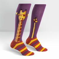 Womens - Geo-Raffe Knee High Socks