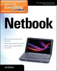 How to Do Everything Netbook by Joli Ballew image