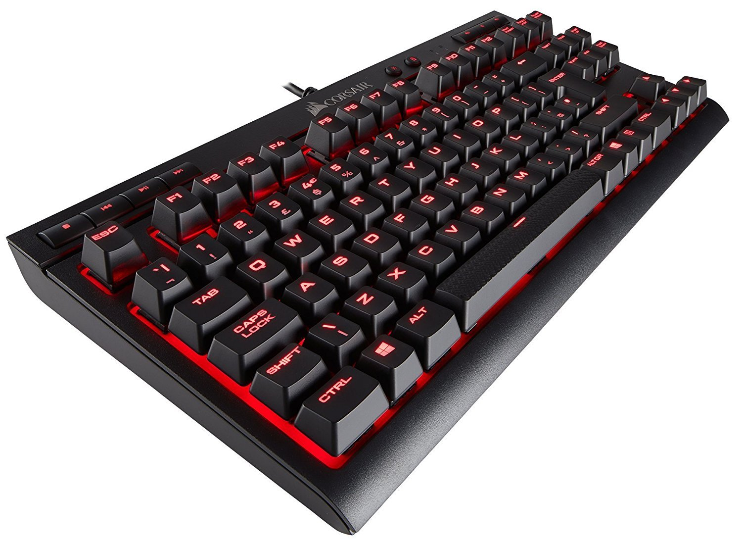 Corsair K63 Mechanical Gaming Keyboard (Cherry MX Red) for PC Games image