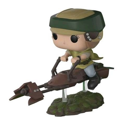 Star Wars - Princess Leia & Speeder Biker Pop! Deluxe Figure (with a chance for a Chase version!)