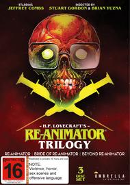 Re-Animator / Bride of Re-Animator / Beyond Re-Animator on DVD