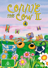 Connie The Cow II - Vol. 4 on DVD