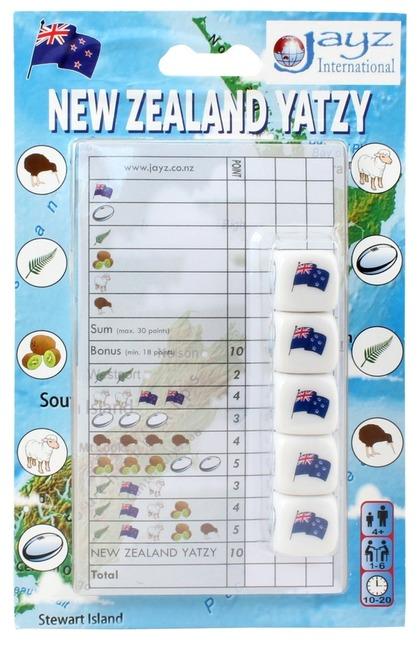 New Zealand Yatzy - Dice Game