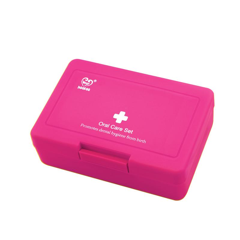 Haakaa: Kids Oral Care Set - Pink image