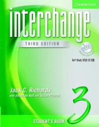 Interchange Student's Book 3 with Audio CD Korea Edition: Level 3 by Jack C Richards image