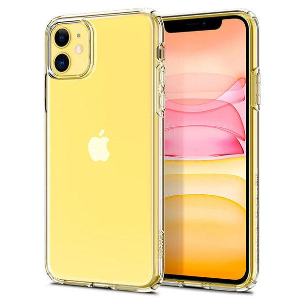 Spigen: iPhone 11 Liquid Crystal Case - Crystal Clear